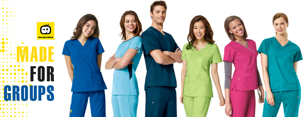Wink Group Scrubs, WonderWink